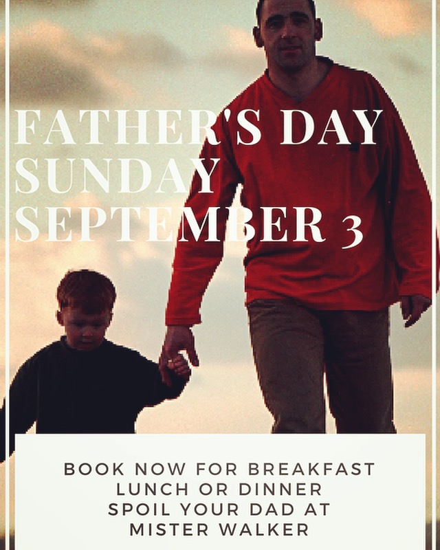 Spoil Dad This Fathers Day at Mister Walker