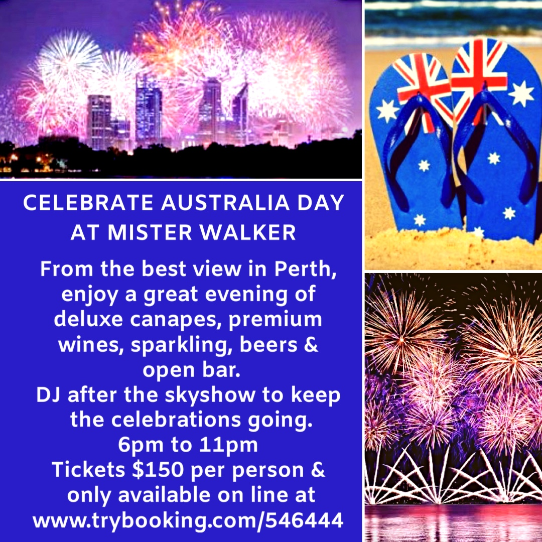 Celebrate Australia Day in style & with the best view of Skyshow 2020 at Mister Walker